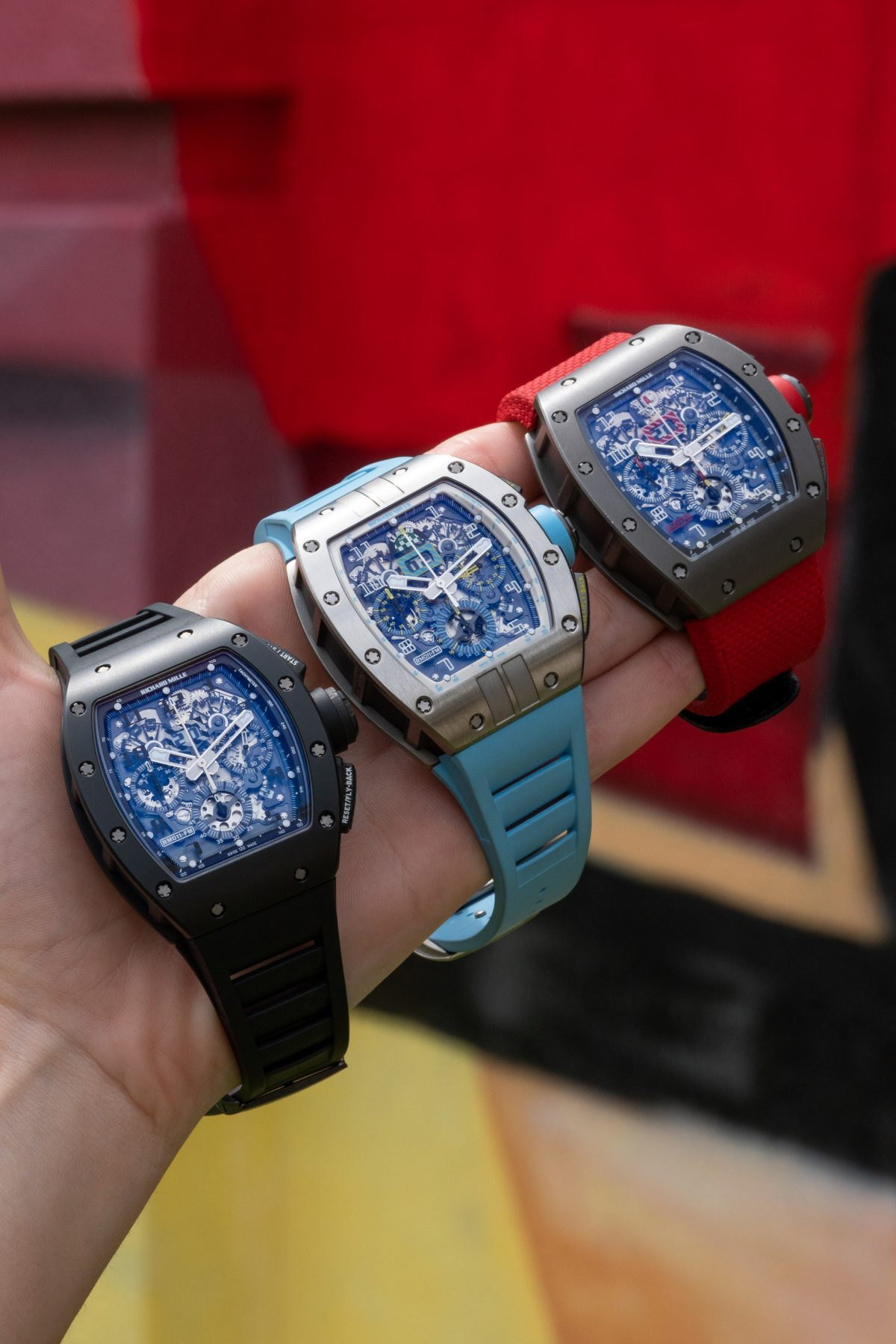An early model of Richard Mille timepieces