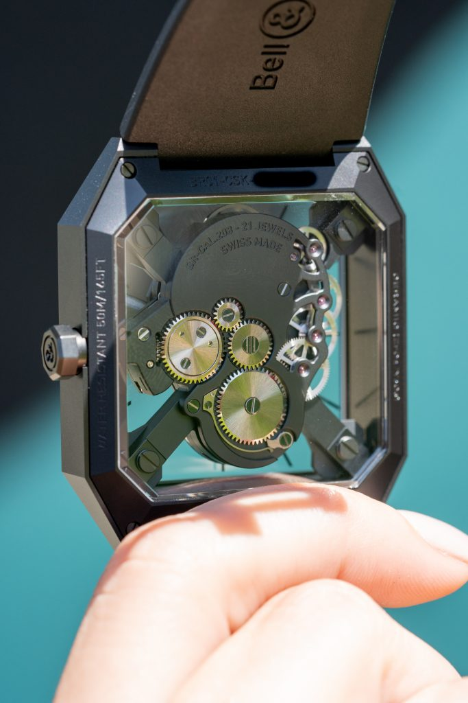 The Bell And Ross BR 01 Cyber Skull Wristwatch