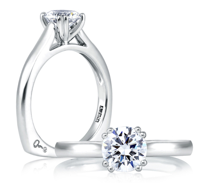 prong-style engagement rings