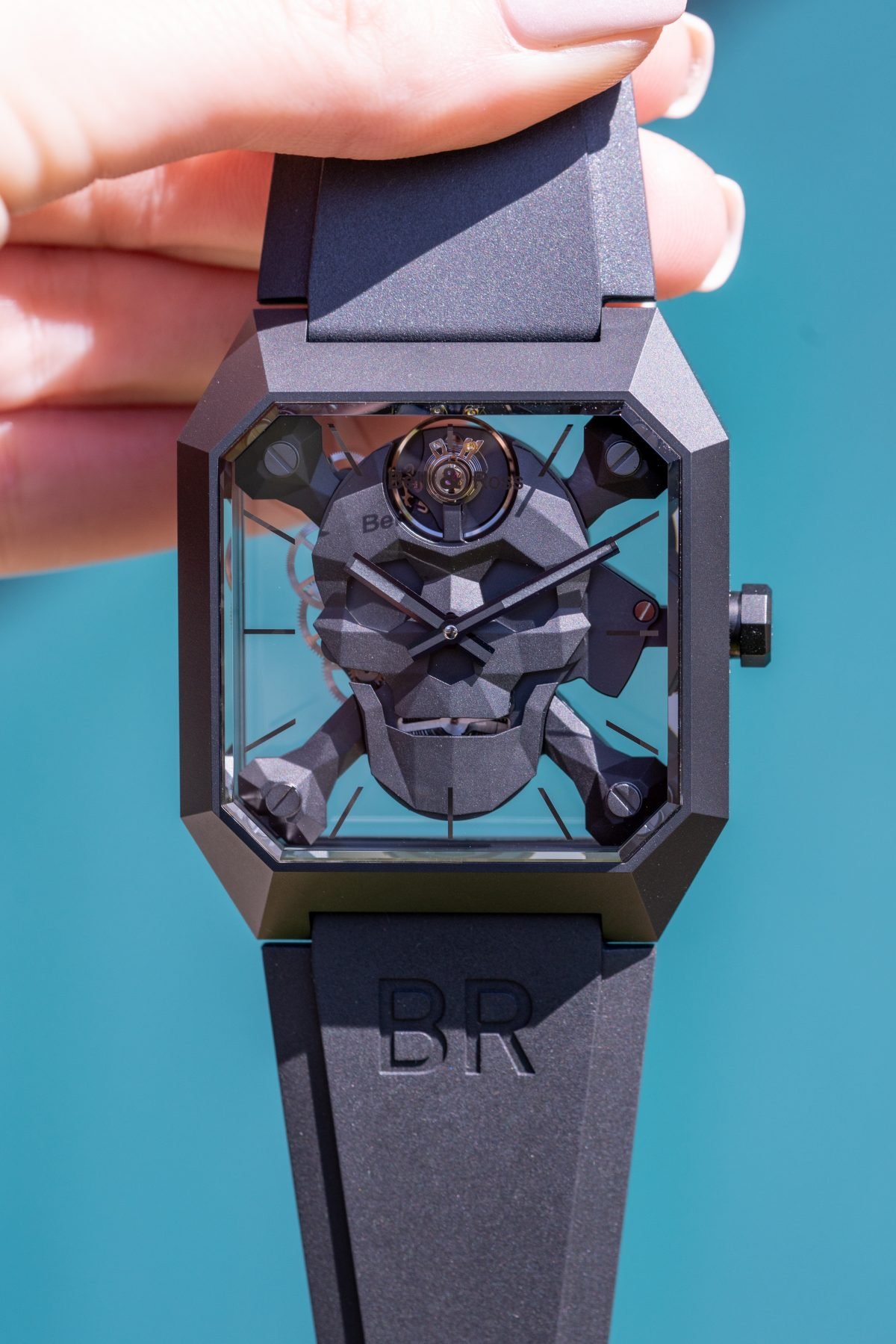 An iconic design from the Bell and Ross brand