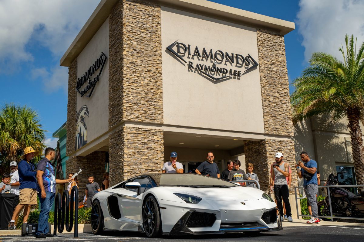 our annual diamonds and donuts car show